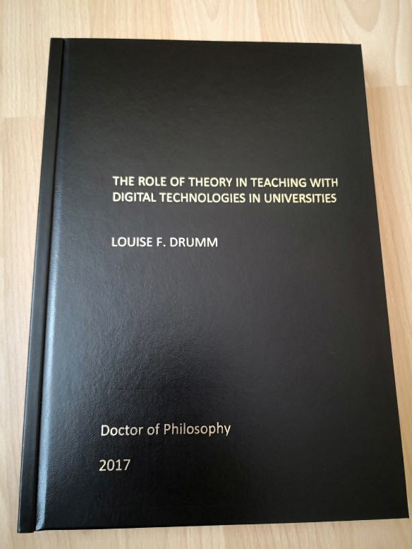 Bound thesis